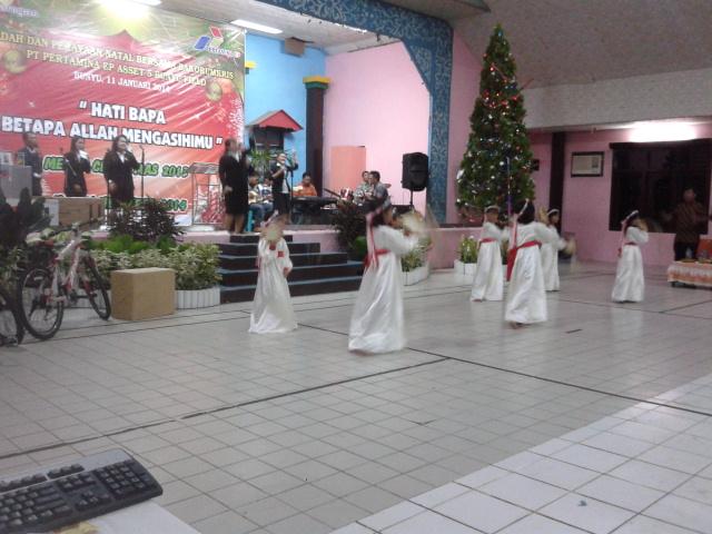 Perayaan natal bakorumkris pertamina bunyu